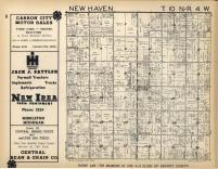 New Haven T10N-R4W, Gratiot County 1955